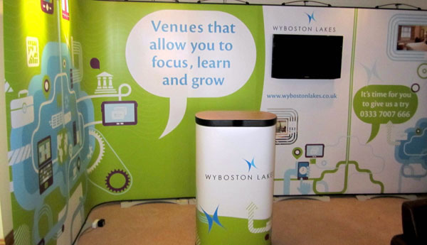 Wyboston Lakes - Free-standing Exhibition Stand